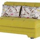 Twist Sleeper Sofa bed in Optimum Green