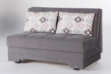 Twist Sleeper Sofa bed in Pure Grey