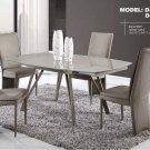 D2177DT & D6605DC-TAUPE 5 Piece Dining Set