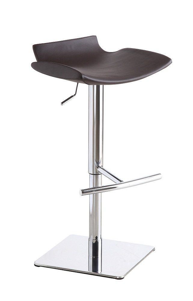 Set of Two Theo Brown Swivel Barstool