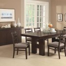 Dabny 7 Piece Rectangular Dining Set