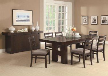 Dabny 7 Piece Rectangular Dining Set