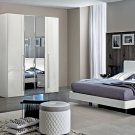 Dama Bianca King Size 5pc Bedroom Set by ESF