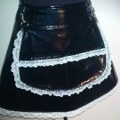 Maid For Pleasure - PVC Maid Skirt w/detach. Apron  SA1-4016