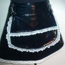Maid For Pleasure - PVC Maid Skirt w/detach. Apron  SA1-4016