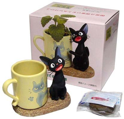 Mini Planter Pot & Seed & Soil-Lemon Balm- Jiji - Kiki's Delivery Service -no production(new)