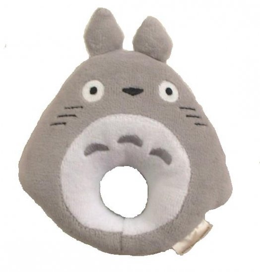 Baby Rattle - Pile - Bell - gray - Totoro - Ghibli - Sun Arrow (new)