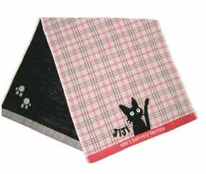 Ghibli - Kiki's Delivery Service - Jiji - Face Towel - Jacquard Weave & Gauze - pink (new)