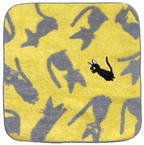 Ghibli - Kiki's - Jiji - Mini Towel - Jiji Patchwork - yellow (new)
