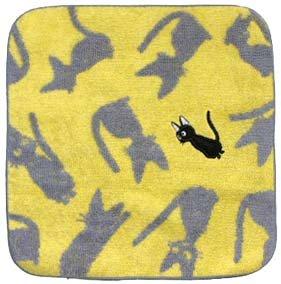 Ghibli - Kiki's - Jiji - Mini Towel - Jiji Patchwork - yellow (new)