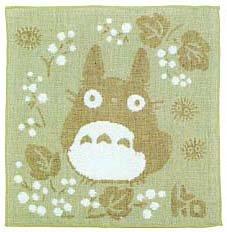 Ghibli - Totoro - Handkercheif - Organic Cotton & Pile & Gauze - Kinomi (new)