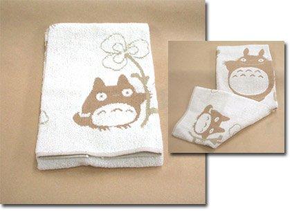Totoro - Face Towel - Organic Cotton & Pile & Gauze - Yotsuba (new)