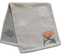 Totoro - Bath Towel - orange - Niwakaame (new)