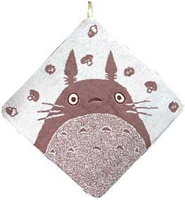 Ghibli - Totoro - Loop Mini Towel - silhouette (new)
