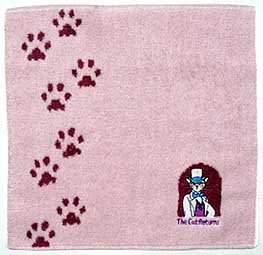 Ghibli - Cat Returns - Mini Towel - Baron Embroidered - RARE (new)
