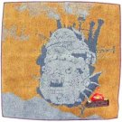 Mini Towel - Calcifer Embroidered - orange - Howl&#39;s Moving Castle - outproduction (new)