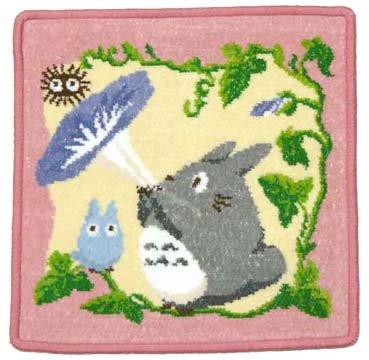 Totoro - Mini Towel - Chenille Weave - Reversible - Hanabue (new)