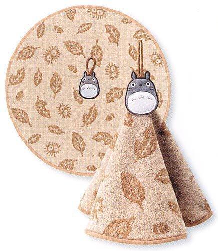 Ghibli - Totoro - Loop Round Towel - Totoro Embroidered - kokage - beige - 2006 (new)