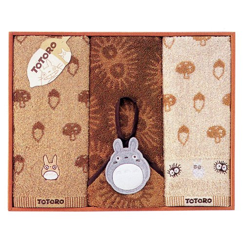 Totoro - Towel Gift Set - Wash & Face & Loop Hand Towel - Family - SOLD OUT (new)