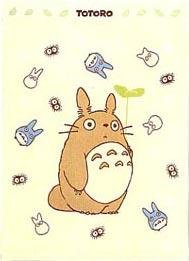 Ghibli - Totoro - Small Towel Blanket - 85x115cm - Kazaguruma - 2006 - RARE (new)