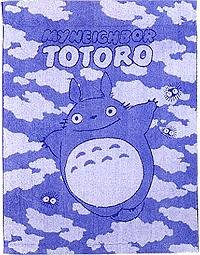 Ghibli - Totoro - Small Towel Blanket - 88x115cm - Non Twisted Thread - Ozora - SOLD OUT (new)