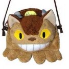 Coin Purse - Shoulder Strap - Nekobus - Totoro - Ghibli - Sun Arrow (new)