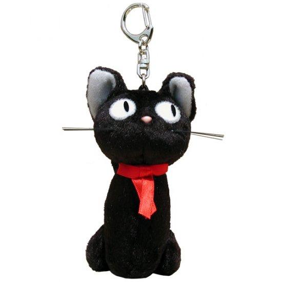 Keychain - Mascot - sit - Jiji - Kiki's Delivery Service - Ghibli - Sun Arrow (new)