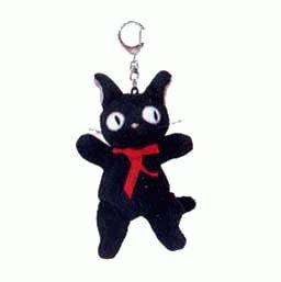 Keychain - Mascot - stand - Jiji - Kiki's Delivery Service - Ghibli - Sun Arrow (new)