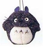 Ghibli - Totoro - Suction Cup Attached - Plush Doll - dark gray - SOLD OUT (new)