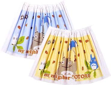 Ghibli - Totoro & Chu & Sho Totoro - Kids Wrapping Towel - blue - SOLD OUT (new)