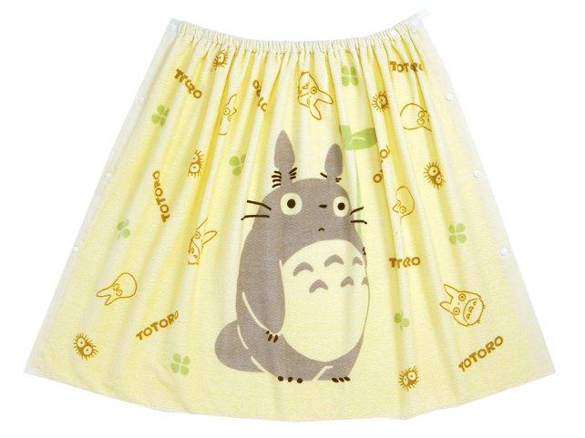 Ghibli - Totoro - Wrapping Towel - 80x120cm - Shirring - kazaguruma - 2006 - SOLD (new)