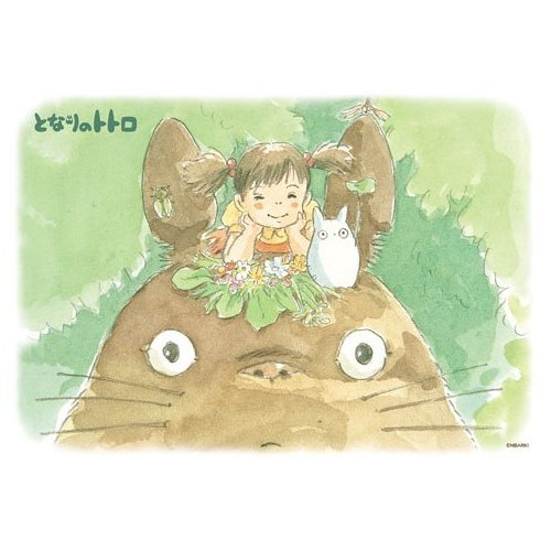108 pieces Jigsaw Puzzle - atama no uede - Totoro & Sho Totoro & Mei - Ghibli (new)