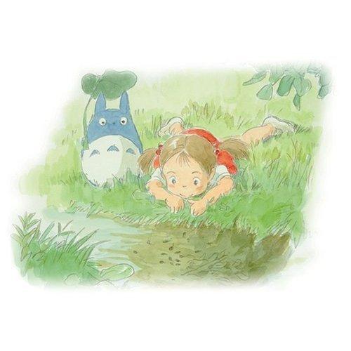 108 pieces Jigsaw Puzzle - ogawa no hotori - Chu Totoro & Mei - Ghibli (new)
