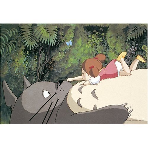 300 pieces Jigsaw Puzzle - totoro no onaka no uede - Totoro & Mei - Ghibli (new)
