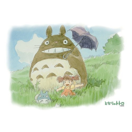 300 pieces Jigsaw Puzzle - osanpobiyori - Totoro & Chu & Sho Totoro & Mei - Ghibli (new)
