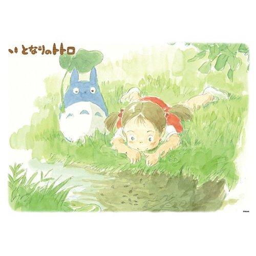 500 pieces Jigsaw Puzzle - ogawa no hotori -  Chu Totoro &  Mei - Ghibli (new)