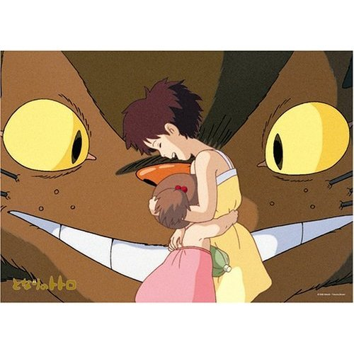 Ghibli - Totoro - Nekobus (Catbus) & Satsuki & Mei - 500 pieces Jigsaw Puzzle (new)