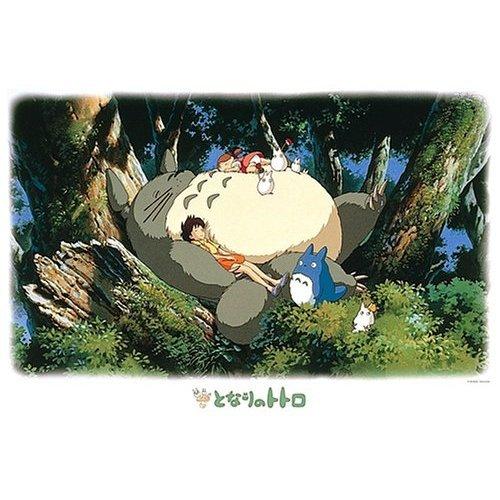 1000 pieces Jigsaw Puzzle - totoroto ohirune - Totoro & Chu & Sho & Mei & Satsuki - Ghibli (new)