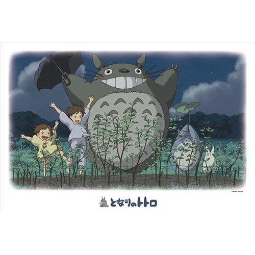 1000 pieces Jigsaw Puzzle - dondon nobiro - Totoro & Chu & Sho Totoro & Mei & Satsuki - Ghibli (new)