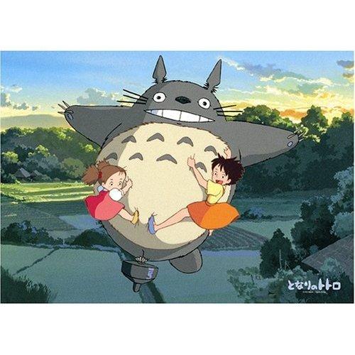1000 Large pieces Jigsaw Puzzle - yugure no sorani - Totoro & Mei & Satsuki - Ghibli (new)