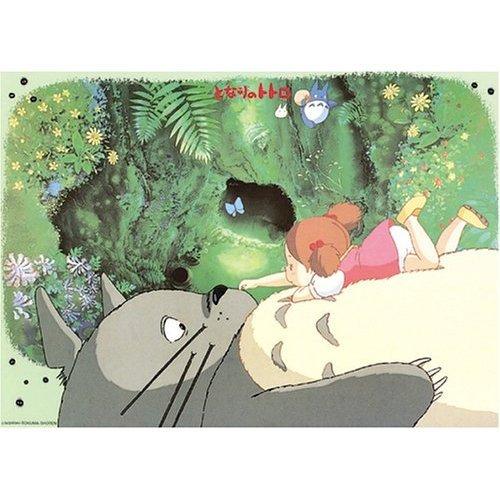Ghibli - Totoro & Mei - 1000 Large pieces Jigsaw Puzzle - anata wa daare? (new)