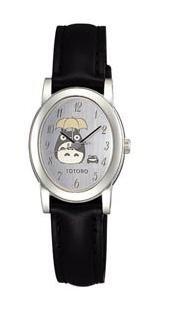 Wrist Watch in Box Case - Seiko - silver - Totoro & Frog - Ghibli - Alba (new)