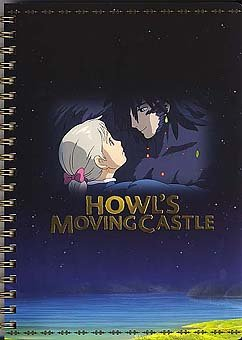 Ghibli - Howl's Moving Castle - Ring Notebook - SOLD OUT (new)