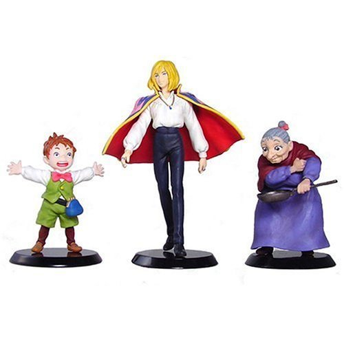 3 Figure Set- Howl Old Sophie Markl -Image Model- cominica - Howl's Moving Castle -noproduction(new)