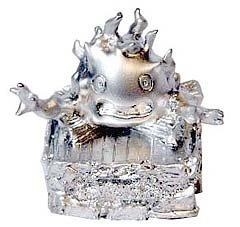 Metal Figure - Calcifer - Howl's Moving Castle - Ghibli - no production (new)