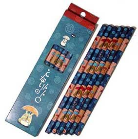 Ghibli - Totoro - 6 Pencil - B - SOLD OUT (new)