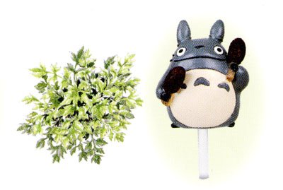Ghibli - Totoro - Planter Pot & Pick & Seed & Soil Set - Italian Parsley (new)