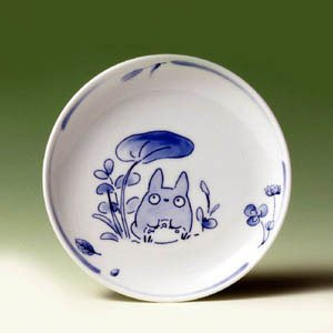 Ghibli - Totoro - Plate (M) - White Porcelain - Noritake #1 -out of production- SOLD OUT (new)