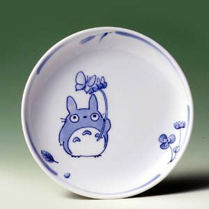 Ghibli - Totoro & Sho - Plate (M) - White Porcelain - Noritake #3 -out of production- SOLD OUT (new)