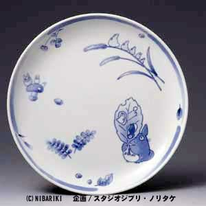 Ghibli - Totoro & Sho - Plate (L) - White Porcelain - Noritake -out of production- SOLD OUT (new)